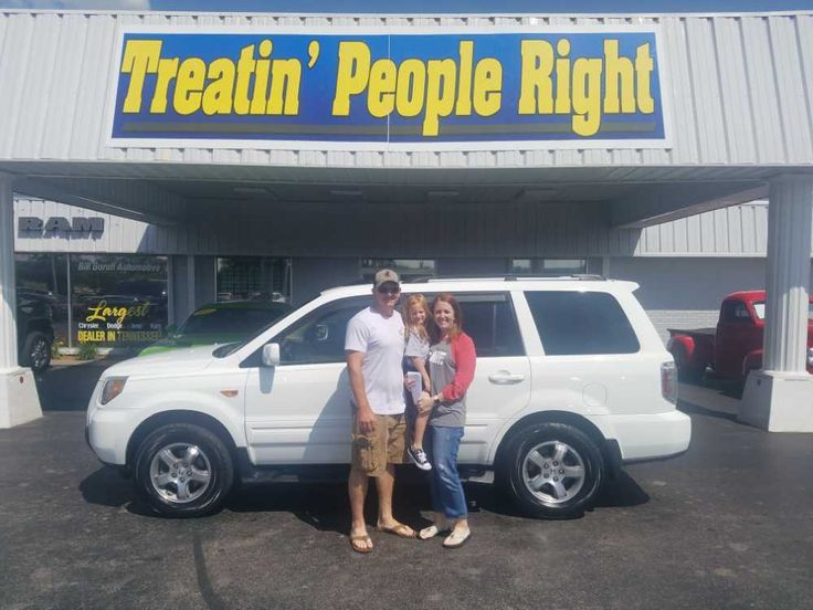 Congratulations Gene & Kristy on the purchase of your 2008 Honda Pilot. We appreciate your business & friendship.