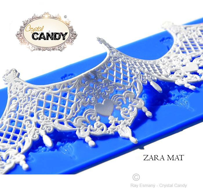 Zara Mat Design Silicone Mats For Lace Edging Pinterest