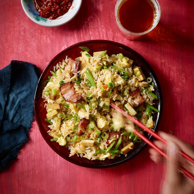Angry Pig Fried Rice: Kings County Imperial in Brooklyn serves this fresh-tasting, lighter version of fried rice. It has just the right amount of heat.