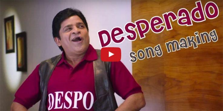 Ali's Despo Desperado Song Making From Padesave Movie