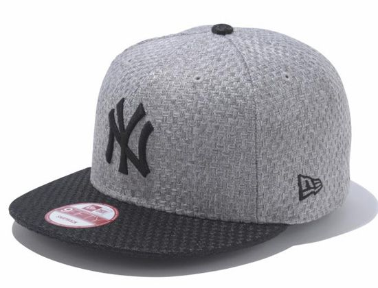 "NEW ERA x MLB ""Yankees Woven Fabric"" 9Fifty Snapback Cap"