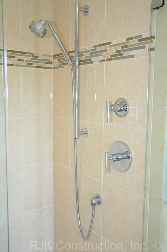 master bath by skill a kohler purist handheld shower on a slide bar for flexible use. Black Bedroom Furniture Sets. Home Design Ideas