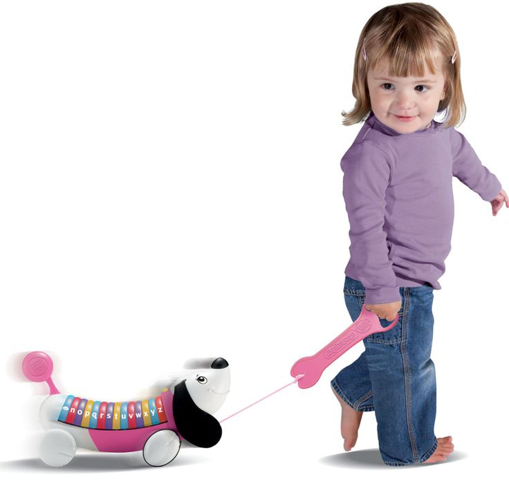 LEAPFROG- ALPHAPUP PULL TOY. Learn the alphabet with this musical puppy friend!