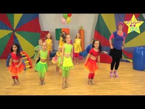 ▶ For Children. Let's Star Jump! - Dance Song! Debbie Doo & Friends! - YouTube
