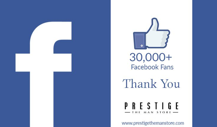 A big thanks to all our fans who have helped us reach this milestone #PrestigeTheManStore