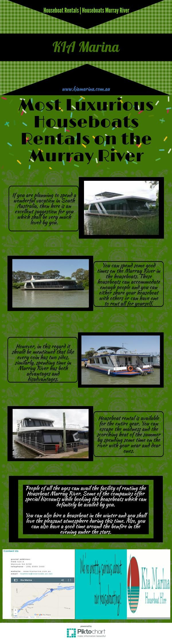Most Luxurious Houseboats Rentals on the Murray River