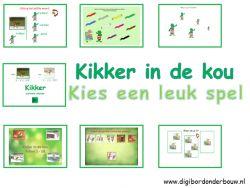 Digibordles: Kikker in de kou. 7 verschillende spelletjes over Kikker in de kou. digibordonderbouw.nl