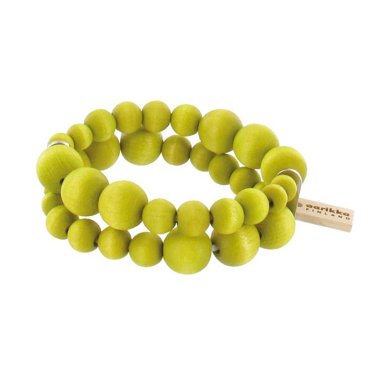 Aarikka - Bracelets : Pilvi bracelet, pistachio