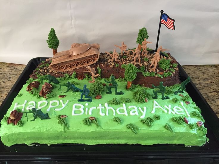 Best 25 Army Birthday Cakes Ideas On Pinterest Army