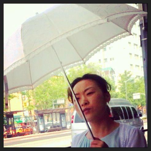 Umbrellas and parasols in Seoul.