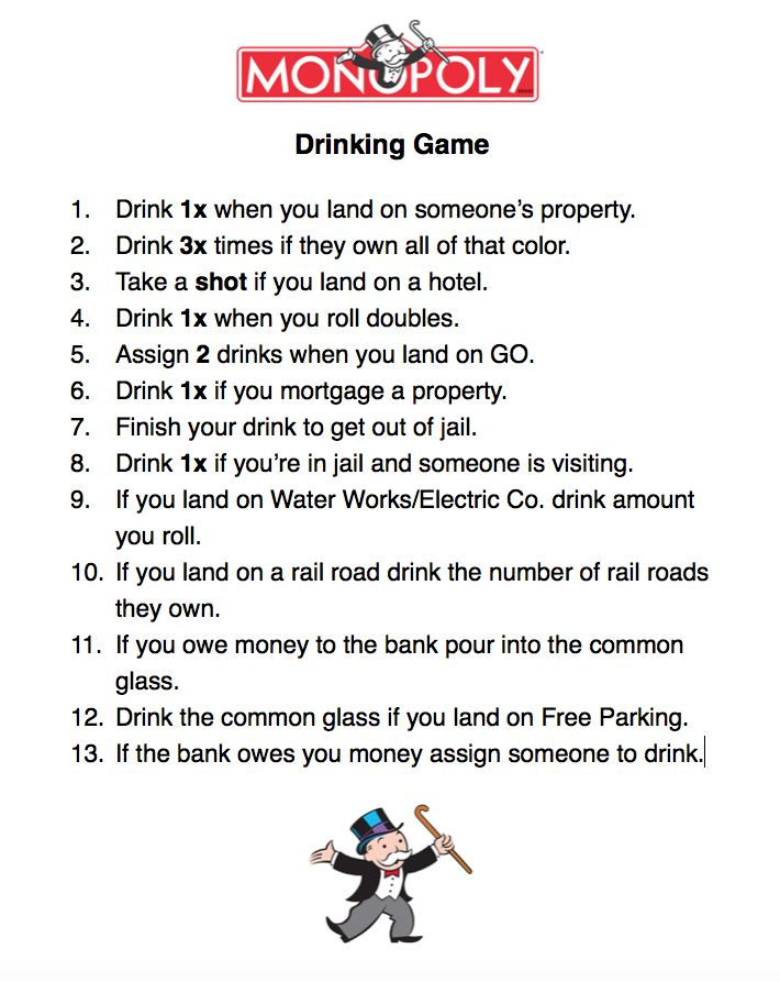 Drinking Game #game #drinkinggame #fun #diy #party #play  – Games