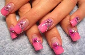 pink nail designs - Bing images
