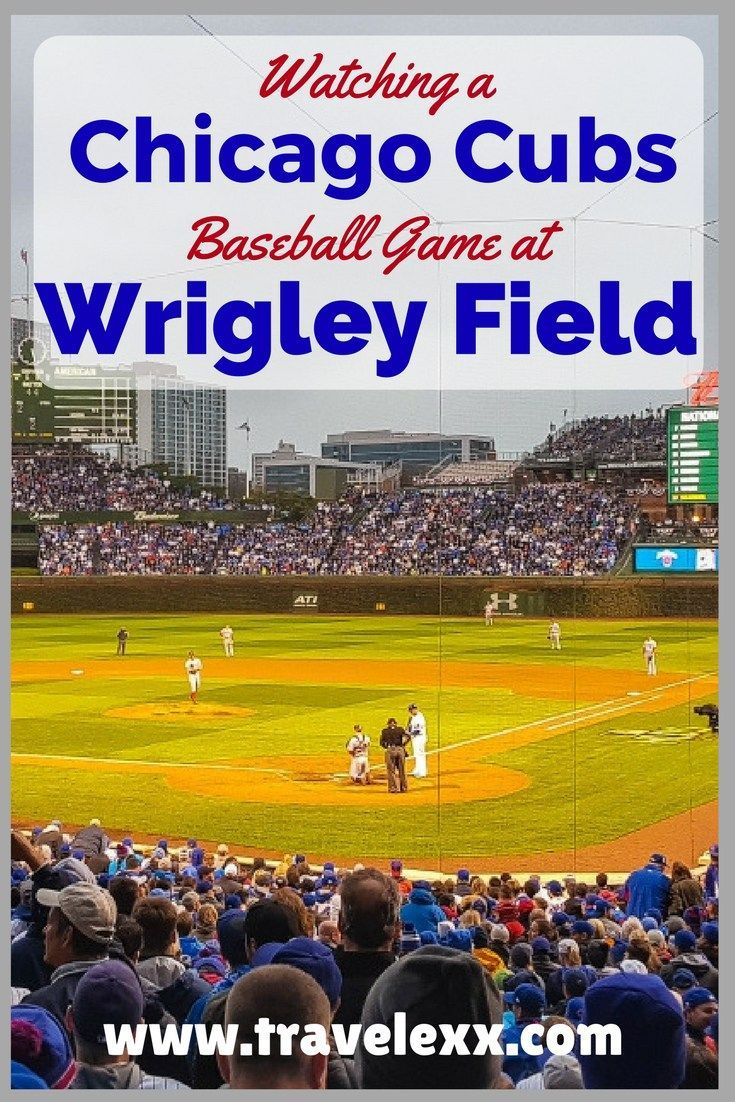 Watching a Chicago Cubs Baseball Game at Wrigley Field | Wrigley Field | Chicago Cubs | Chicago Sports | North Side | Baseball | MLB | Ballpark | Chicago Baseball | Chicago Things To Do