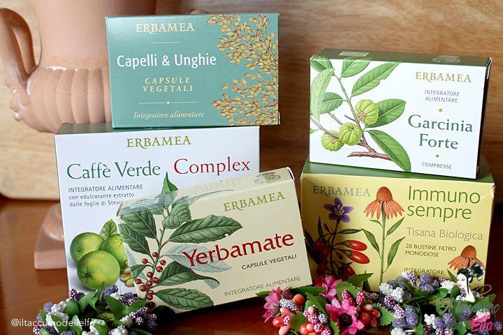 Erbamea Capsule, Integratore Alimentare e Tisana - Le erbe giuste per la stagione fredda | Il Taccuino dell'Elfa