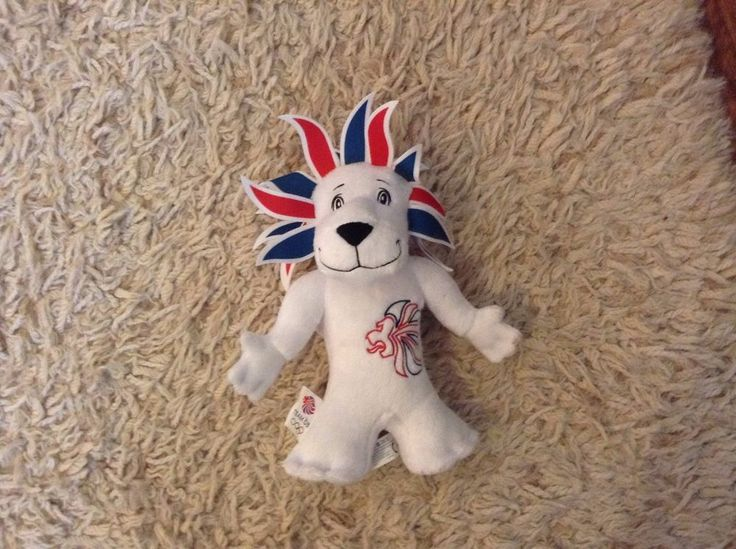 Team GB Lion Mascot Teddy  | eBay