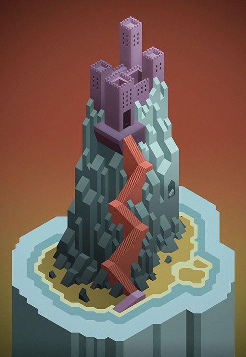 isometric castle - Pesquisa Google
