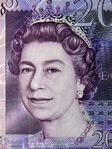 £ 20 note british ten pound note bank of england money currency seen ...