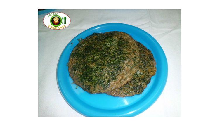 Omelete de espinafres