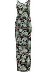 Geisha - maxi-jurk met tropische bloemen