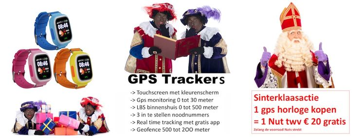 Gps horloge met touchscreen en apps