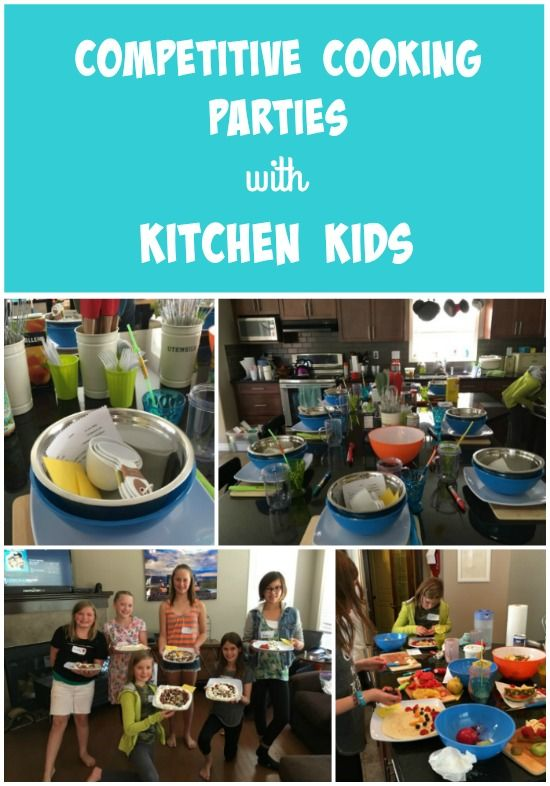 Birthday parties for kids based on competitive cooking shows!