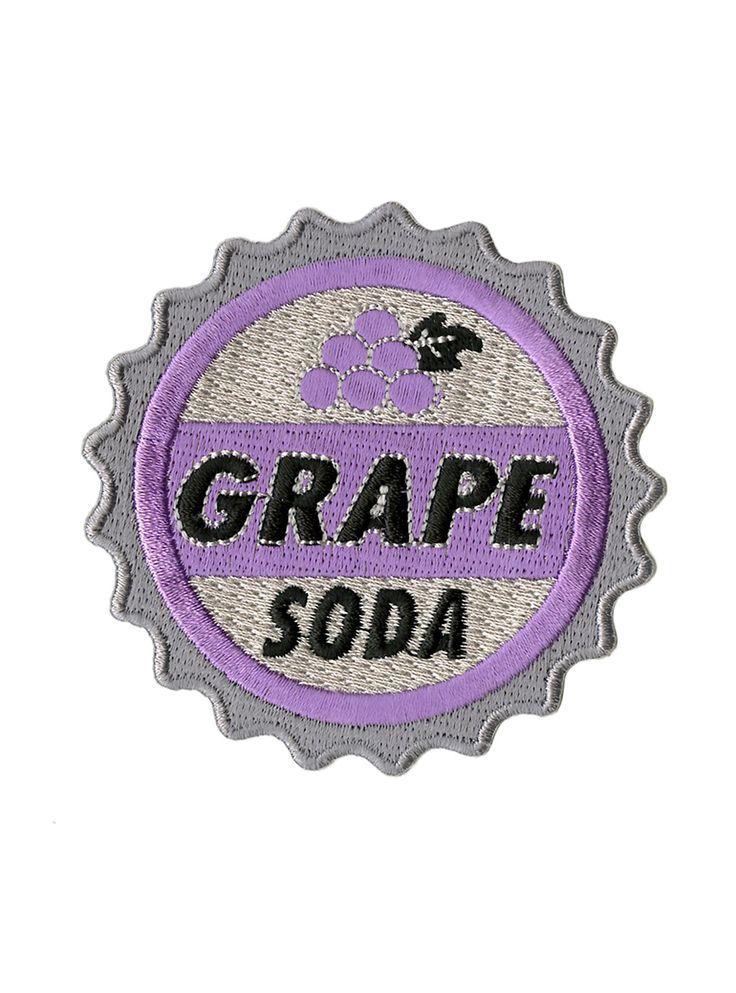 "<p>Update your favorite denim jacket with this grape soda patch from Disney's<i> Up</i>.</p> <ul> <li>2 ¾ x 3""</li> <li>Imported</li> </ul>"