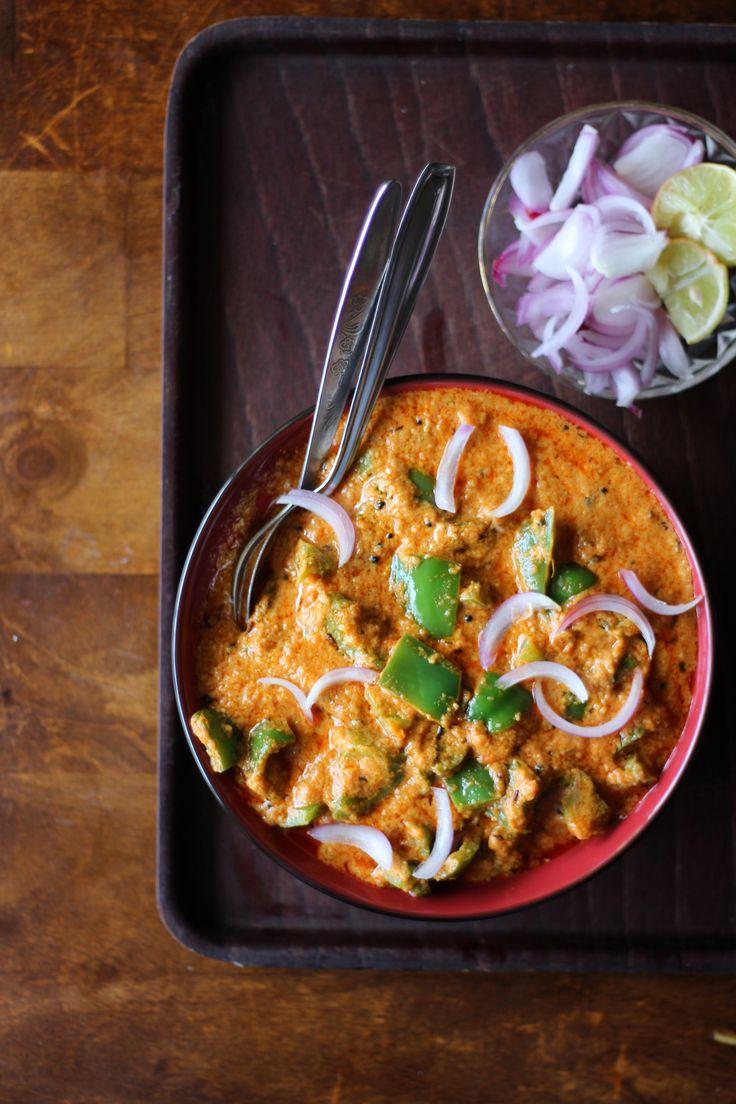 Capsicum Curry Recipe. ...