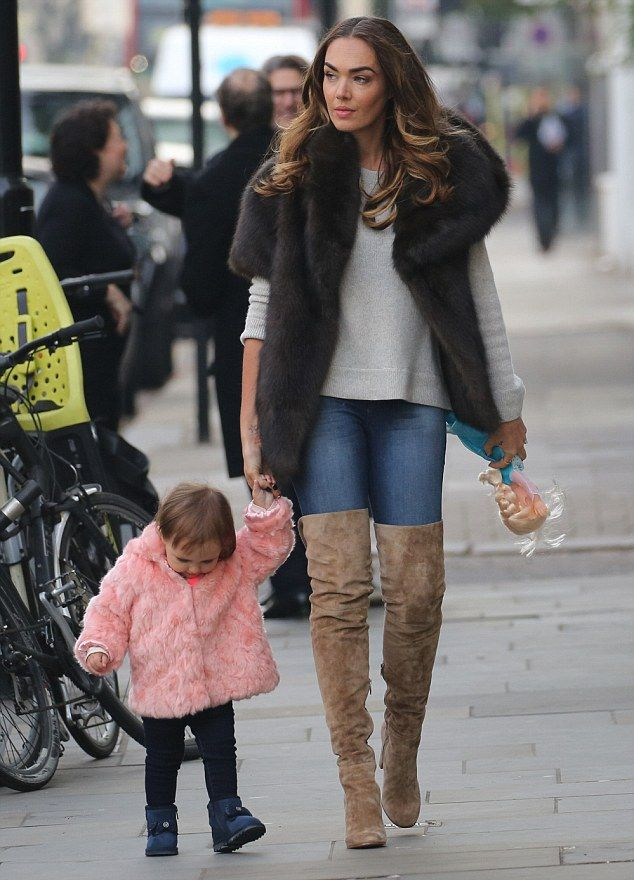 Twins! Tamara Ecclestone, 31, was spotted out with her 20-month-old daughter Sophia on Mon...