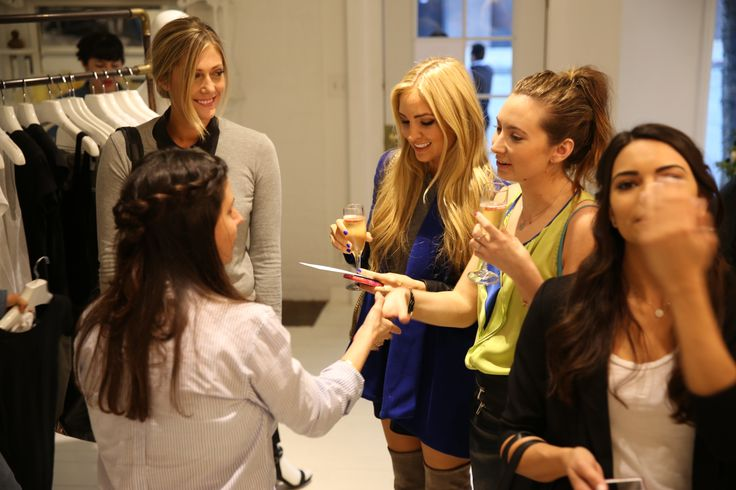 #justaperfectday event at Joe's Jeans Melrose Boutique