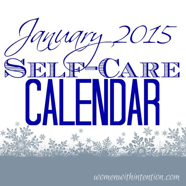 Make time for yourself this year with my FREE monthly self-care calendars! Here is my January 2015 Self-Care Calendar PDF!