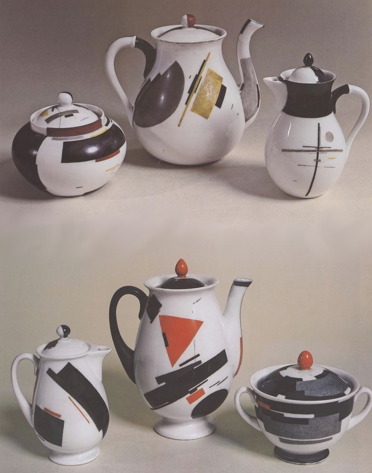 Tea, anyone? Nikolai Suetin's ceramic Suprematism, 1922-1928