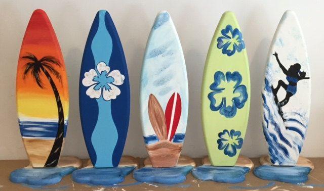 2ft alto surf tablas de surf tabla números centro de mesa