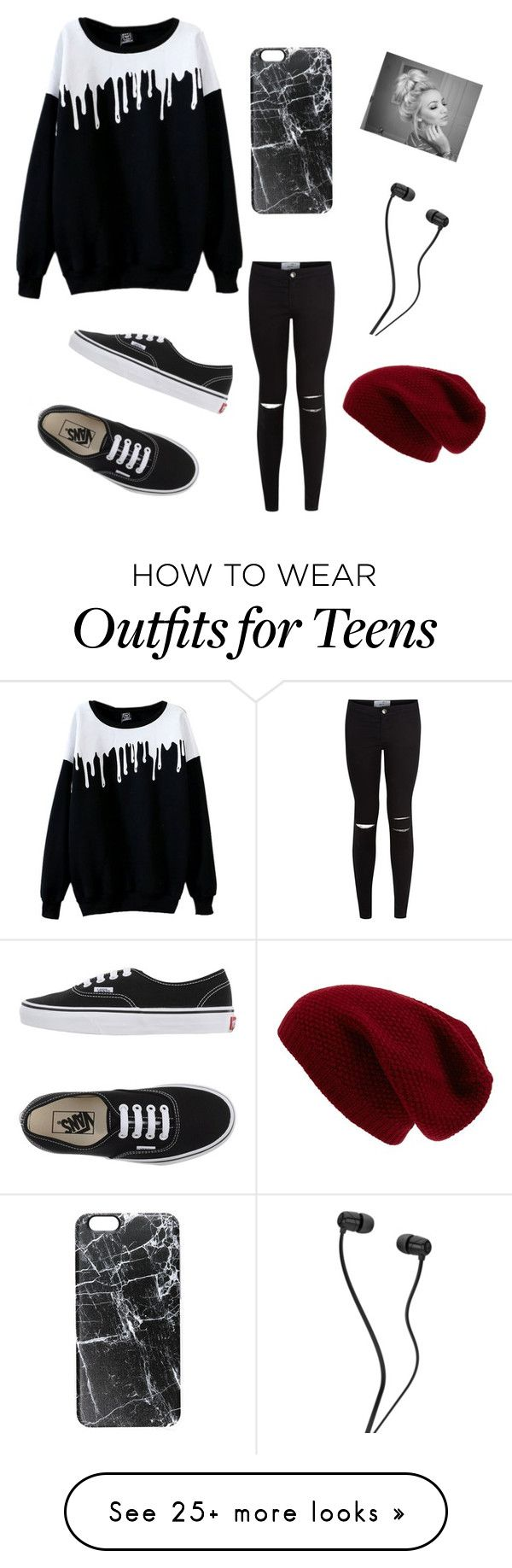 """""""Untitled #1"""" by kayleefletcher on Polyvore featuring Vans, Casetify and Sole Society"""