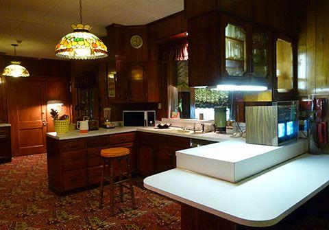 Inside Graceland Upstairs Pass Through The Kitchen