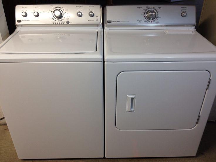 Basic Washer And Dryer #6 - Maytag Centennial Washer Dryer Set