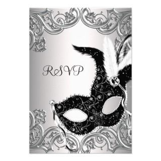 The 25 best Masquerade party invitations ideas on Pinterest
