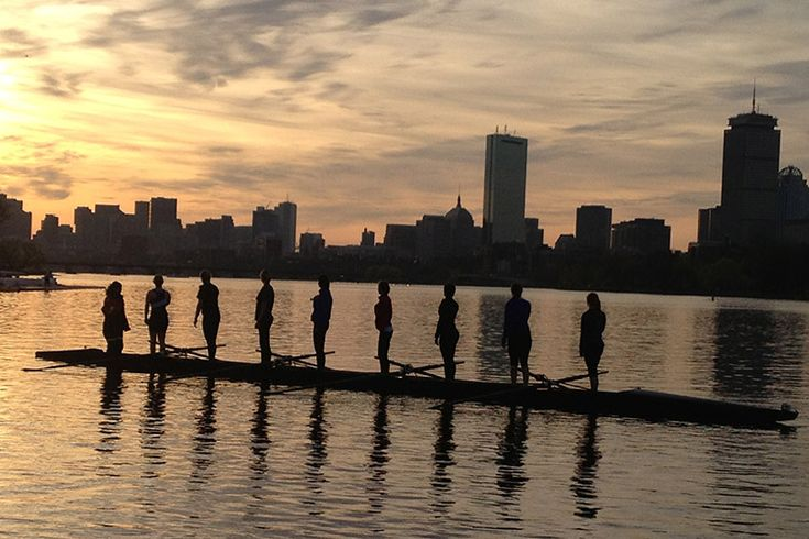 Boston Salute - row2k Rowing Picture of the Day