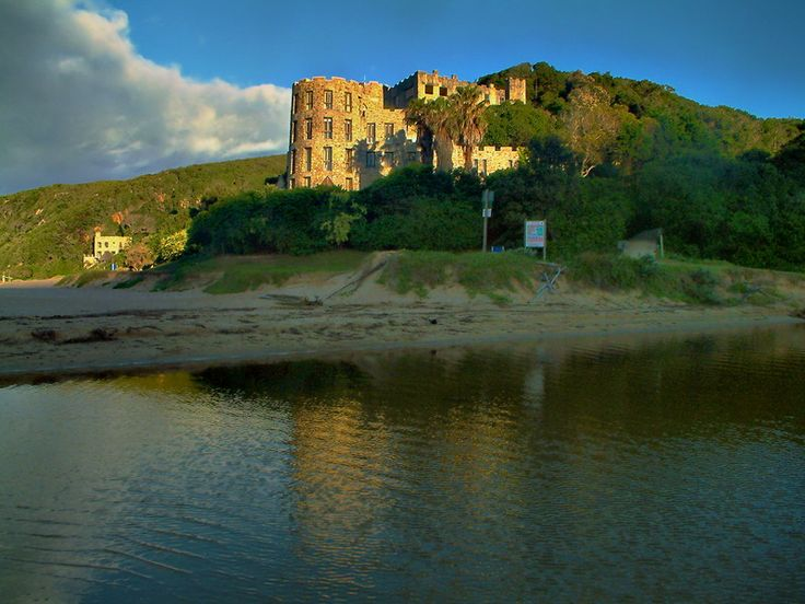 One of the many castles at Noetzie near Knysna, South Africa.