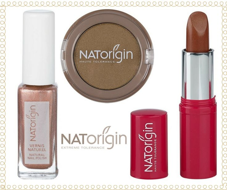 You'll be all set for the #summer sun with natural and gentle #NATorigin #cosmetics in golds and bronzes! ☀️