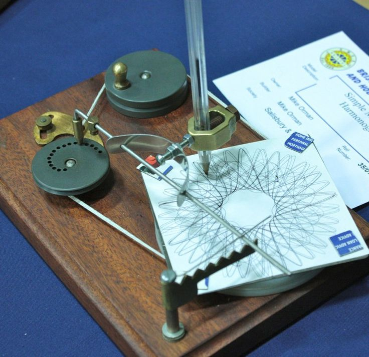 Simple Mechanical Harmonograph