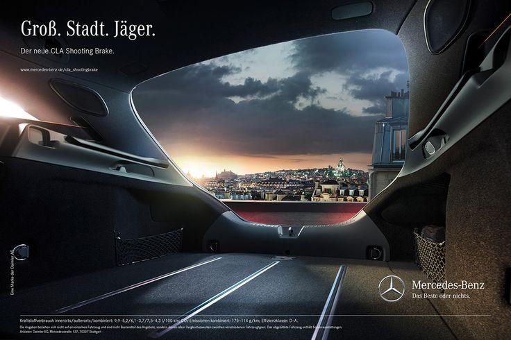 Mercedes-Benz CLA with Anke Luckmann | CGI & Retouching on Behance