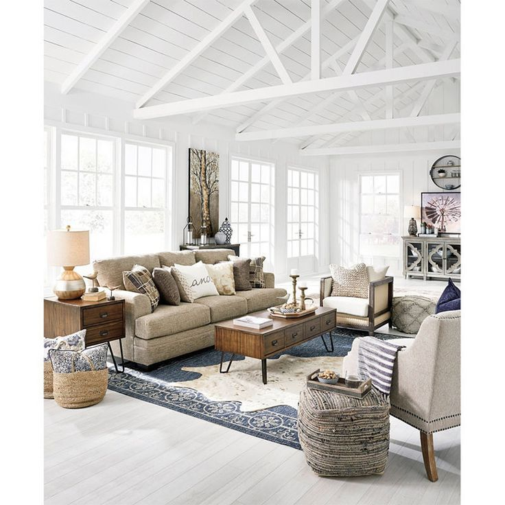Signature Design By Ashley Windham Sofa With Images Apartment