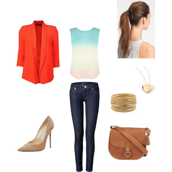 For a work by own-style on Polyvore featuring moda, Warehouse, French Connection, Juicy Couture, Fat Face, Rare London, L. Erickson and Jimmy Choo