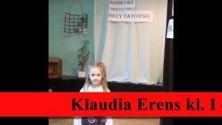 """Konkurs Recytatorski """"Wierszy dla Babci i Dziadka"""" w Szamotułach w roku szkolnym 2010/11"""