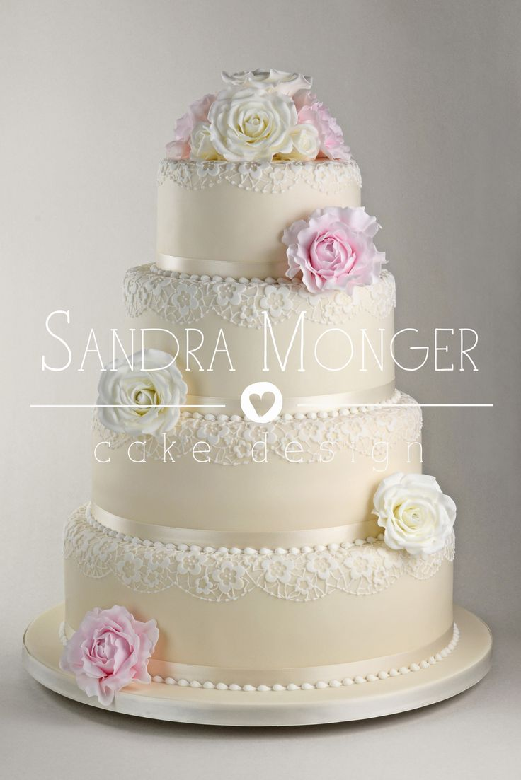 24 best Pink and Pretty Wedding cakes. images on Pinterest | Pretty ...