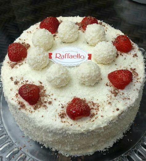 Makkelijke Rafaello taart die ook nog eens onwijs heerlijk is!