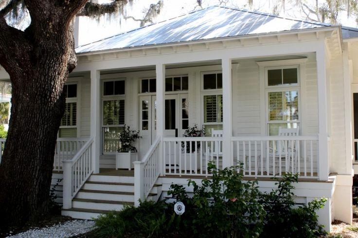 Best 254 Best White House Silver Metal Roof Black Shutters 400 x 300