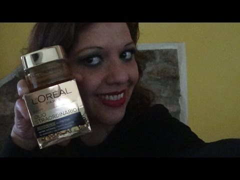 Video Review : Crema Viso Olio Straordinario Loreal