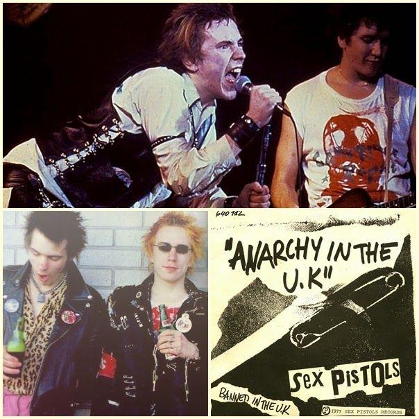 Sex Pistols  Alfinetes de Segurança: do Punk ao Mainstream