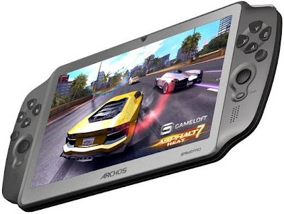 Archos GamePad - Portable Android Game Console: Archo Gamepad, Games Tablet, Con Android, Gamepad Tablet, Games Consoles, Games Control, Android Tablet, Archo Announcements, Android Games